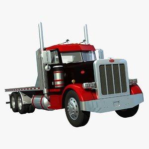 359 truck platform 3d lwo