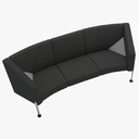 Decision Sofa with Arms (3-Seater)