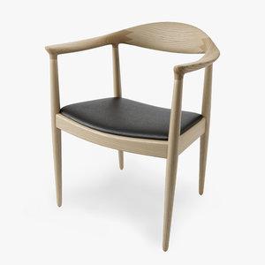 503 chair pp mobler 3d obj