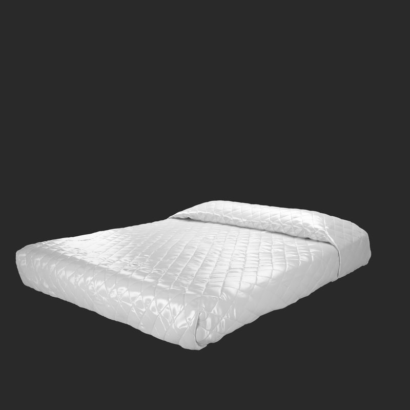 3d high-quality bed model