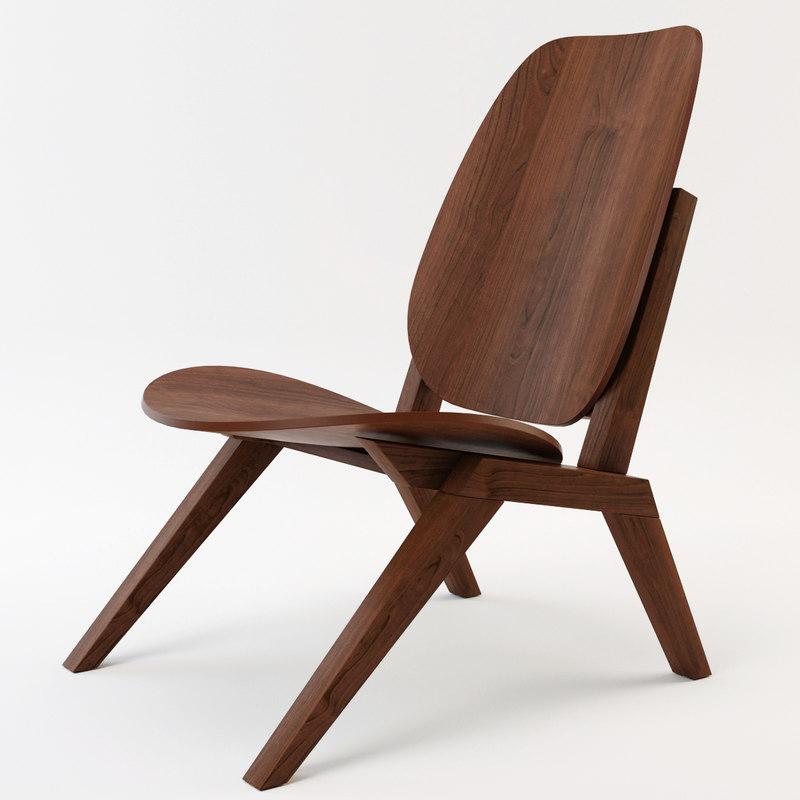 3d klassiker chair model