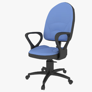3d conference office chair