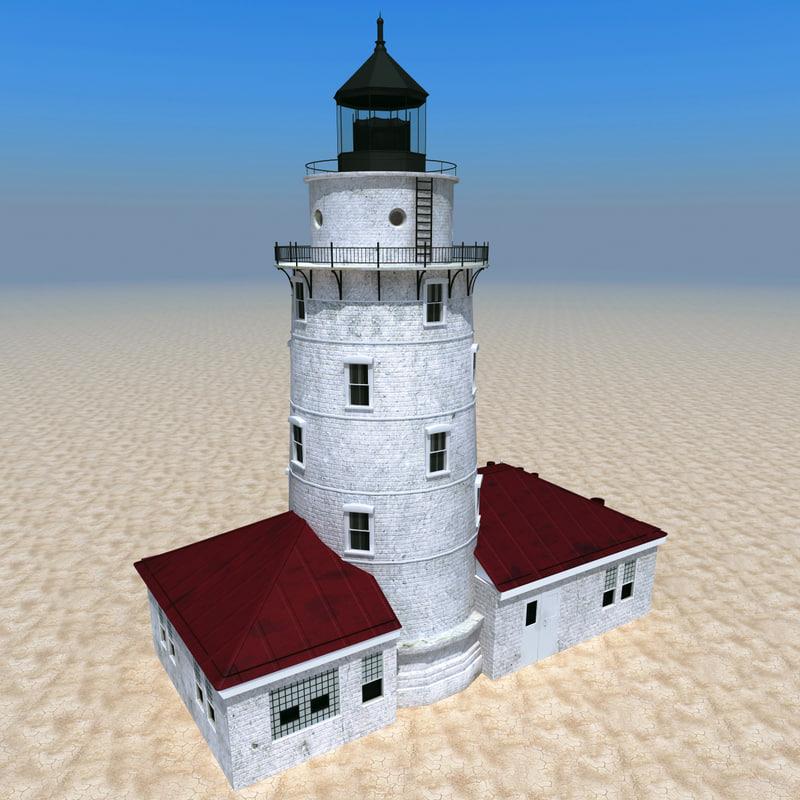 3d 3ds lighthouse 5