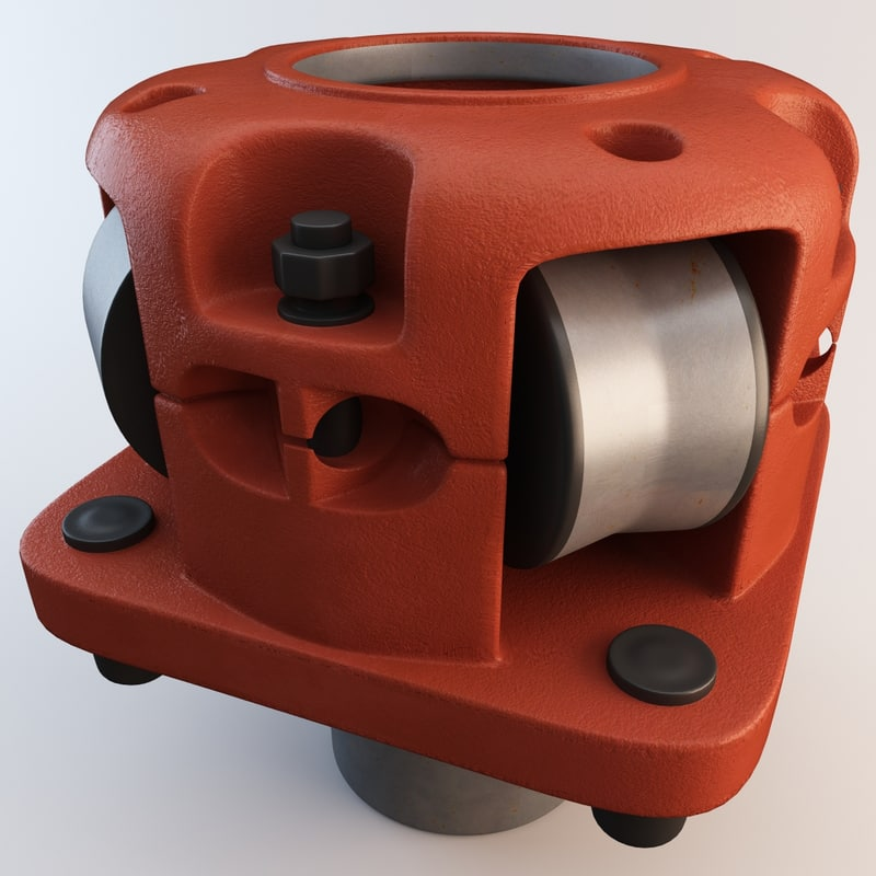 3ds max roller kelly bushing