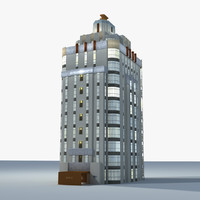 3d historic sunset tower day