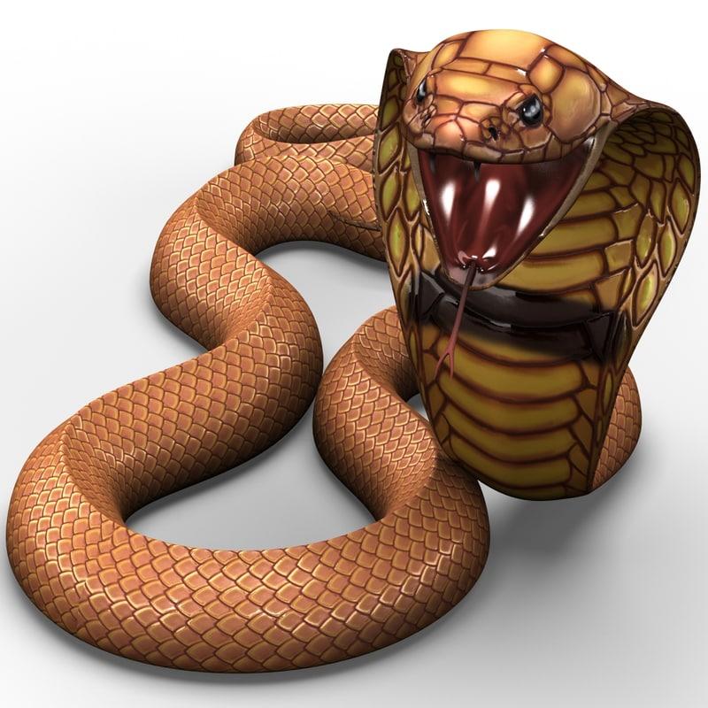c4d snake cobra pose 6