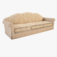 triple sofa capriccio 3d max