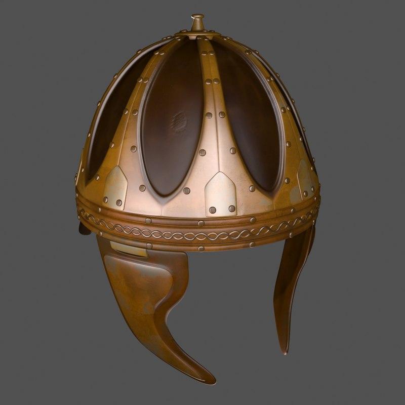 max riveted plate helmet