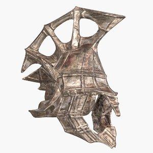 atlantis old steel helmet max