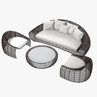 Kenneth Cobonpue Outdoor Furniture Set