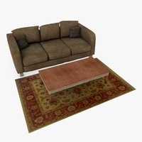Couch and Coffeetable