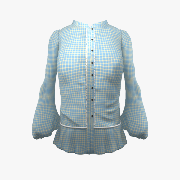woman dress 3d model