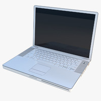 laptop computer generic 3d 3ds