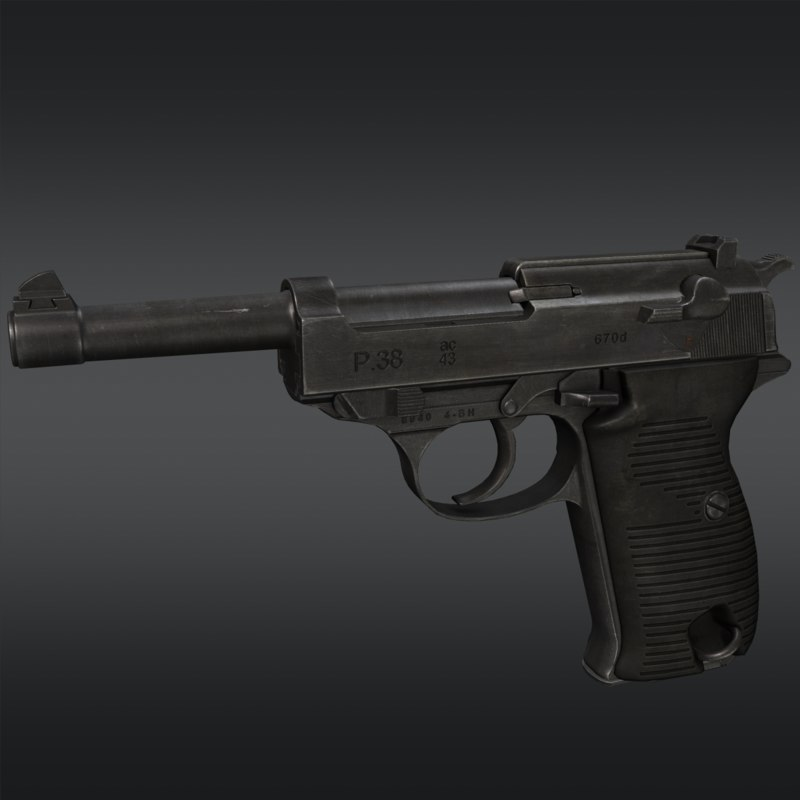 max walther p38 pistol