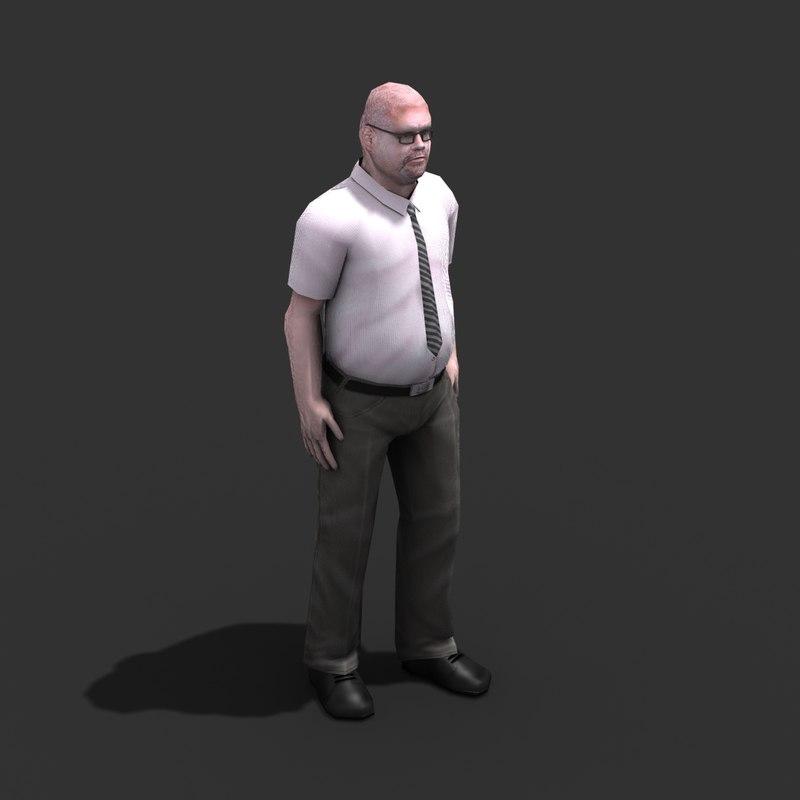 male civilian rigged max