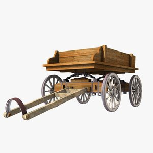 wooden cart wood max