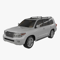 3ds max toyota land cruiser v8