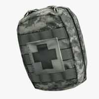 Compact Army Individual First Aid Kit (IFAK)