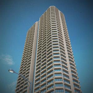 new skyscraper 22 3d model
