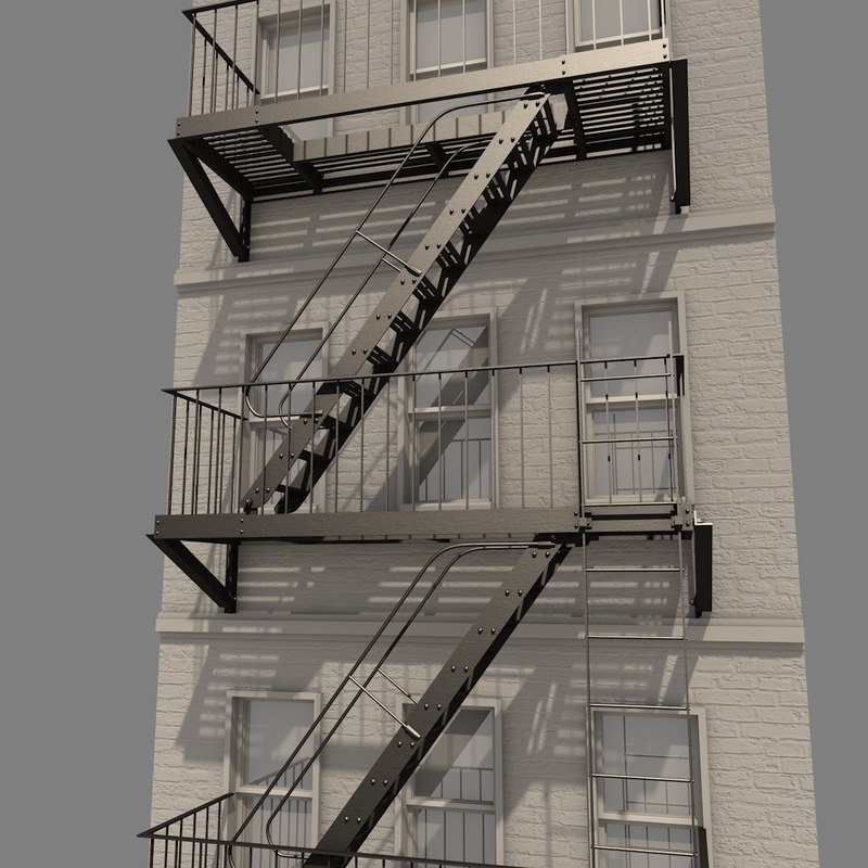 Exceptional Fire Escape System