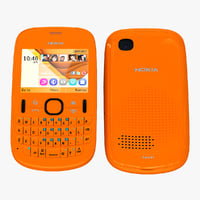 3ds max nokia asha 201 orange
