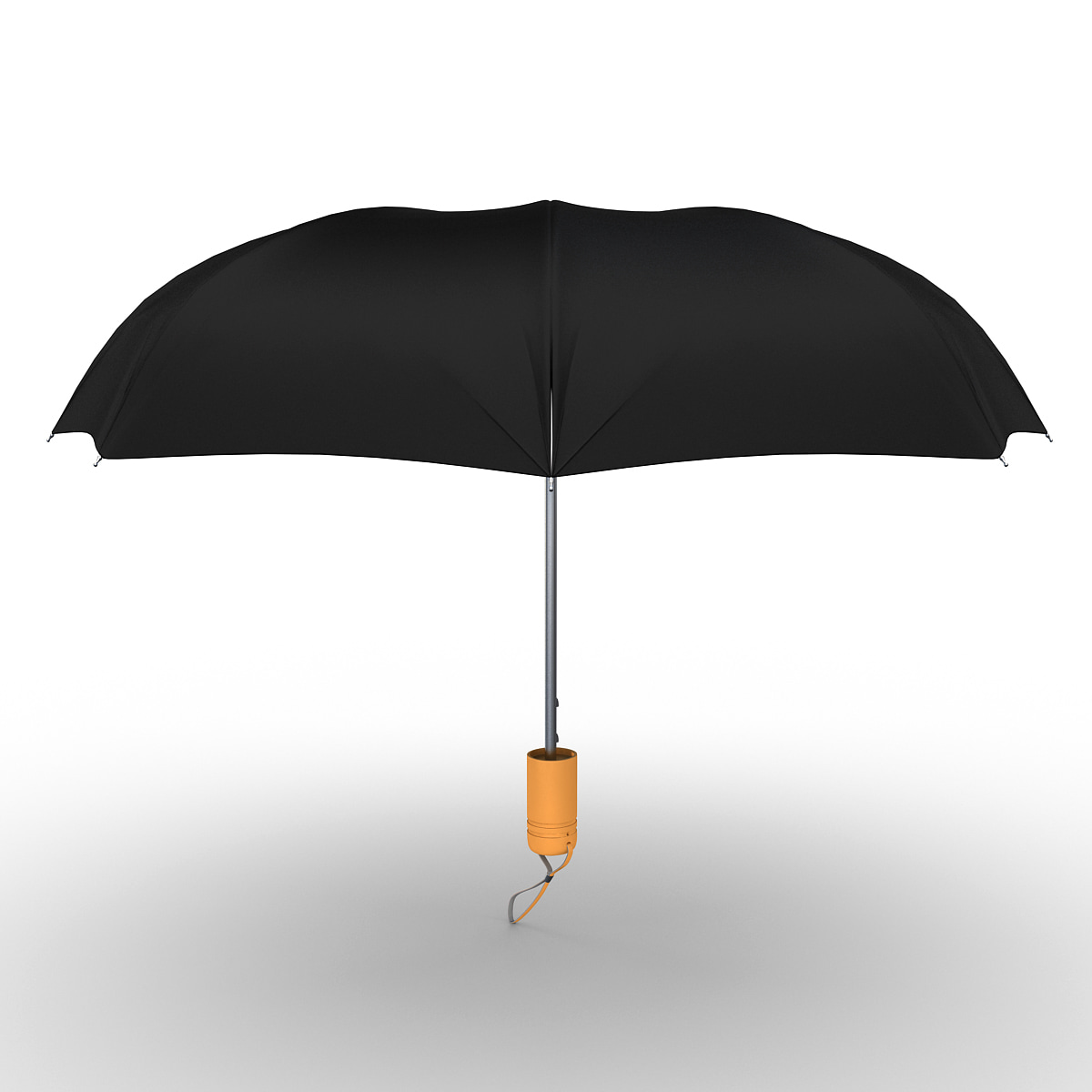 3d umbrella open 2 model