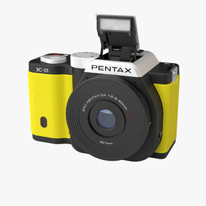 mirrorless camera pentax k-01 3ds