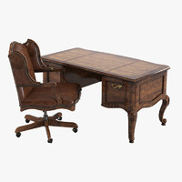 Century Office Outside Home Desk  Cabot & Executive Chair