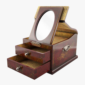 max antique jewelry box