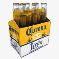 Six Pack of Corona Light Beer