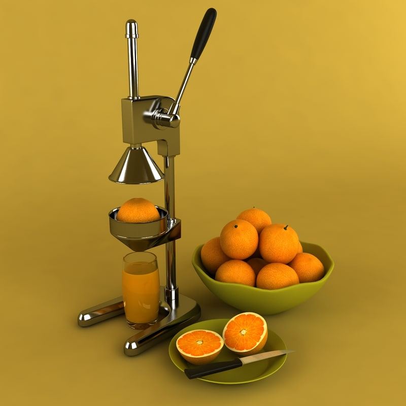juicer orange juice 3ds