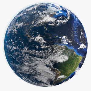 earth hd obj