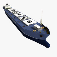 max realistic oil tanker
