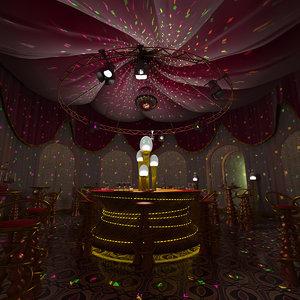 3d club saloon castle