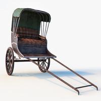 fbx rickshaw cart