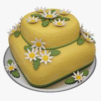 3d model honey cake