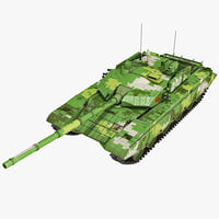 chinese tank 2 3d model