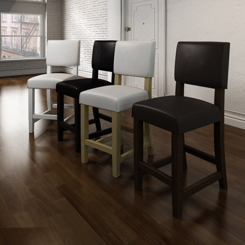 solid chair 3d max
