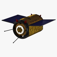 satellite netherlands 3d model
