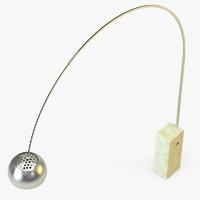 3d standard lamp model