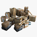 mail Package 3D models