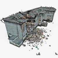 Destroyed House 10