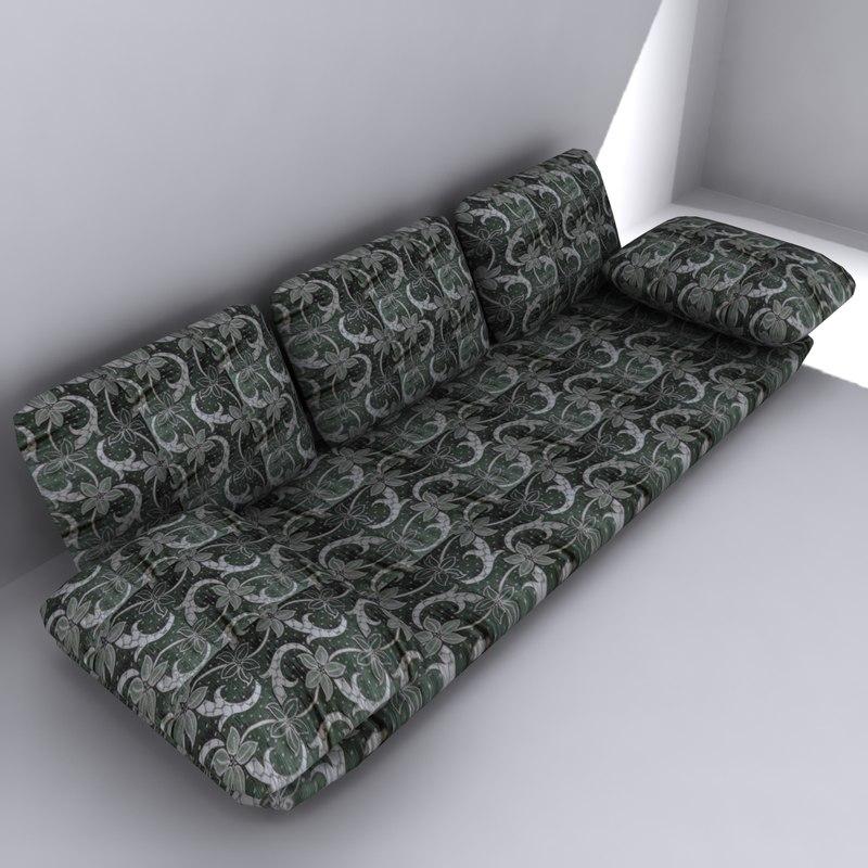 arabian floor sofa 3ds