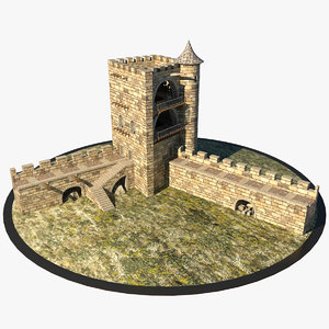 max medieval tower