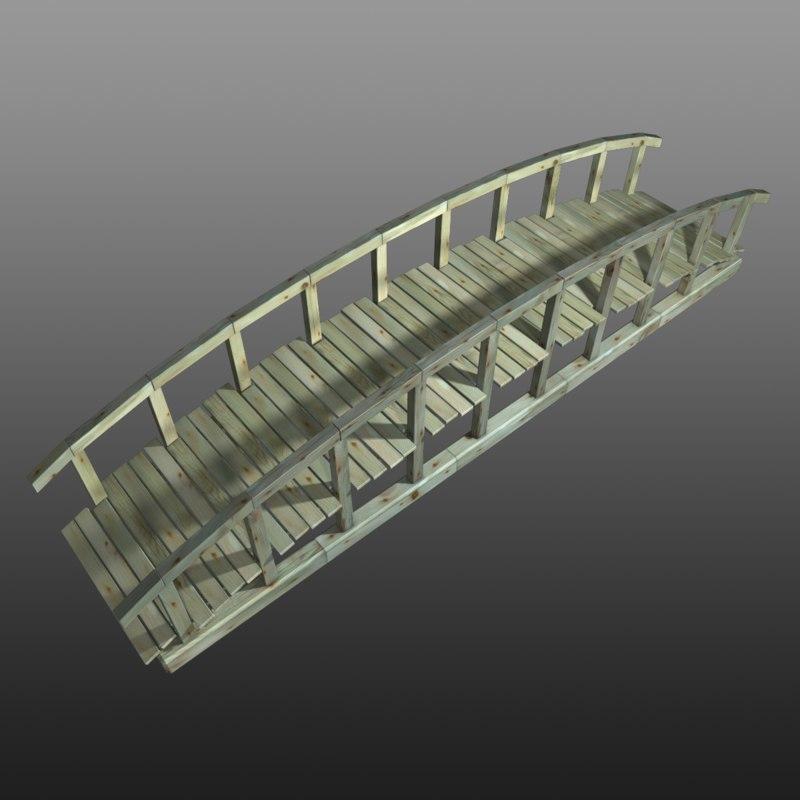 bridge wood wooden max
