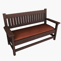 antique bench max