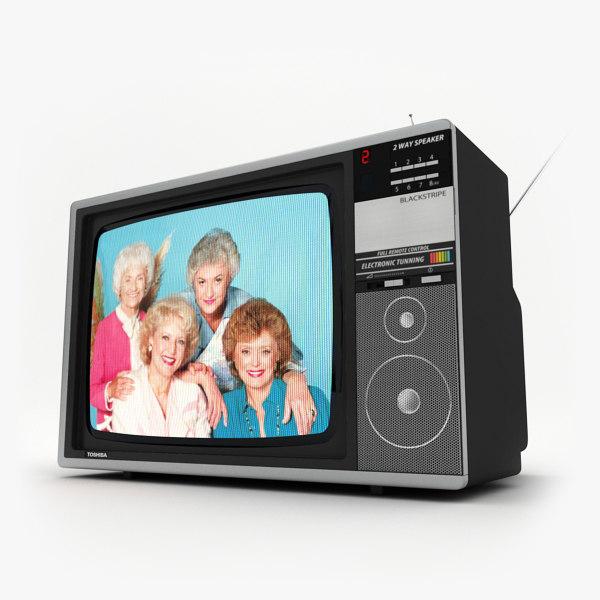 3d 3ds retro tv toshiba