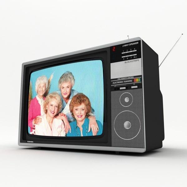 retro tv toshiba 3d 3ds