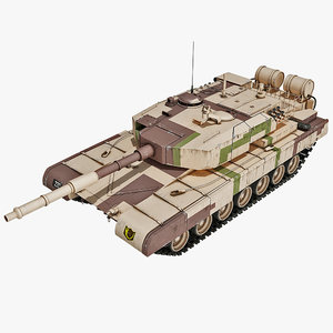 indian arjun tank main 3d obj