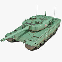 Japan Main Battle Tank Type 90 2